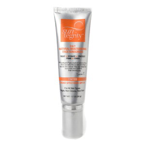 Suntegrity Skincare 5-in-1 Natural Moisturizing Face Sunscreen