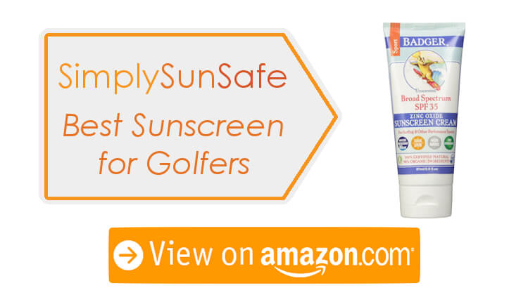 Top Sunscreen for Golfers
