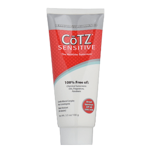 CōTZ Sunscreen for Sensitive Skin SPF 40