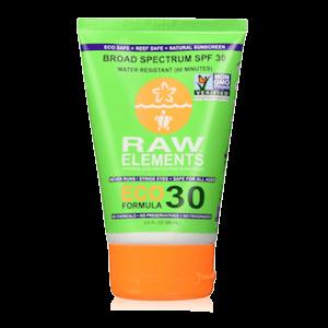 Raw Elements Eco Formula Sunscreen SPF 30