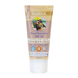 Badger Tinted Sunscreen SPF 30