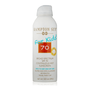 Hampton Sun SPF 70 for Kids Continuous Spray Sunscreen