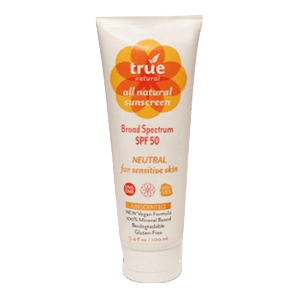 True Natural Sunscreen SPF 50