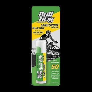 Bull Frog Land Sport Quik Stik SPF 50 Sunscreen