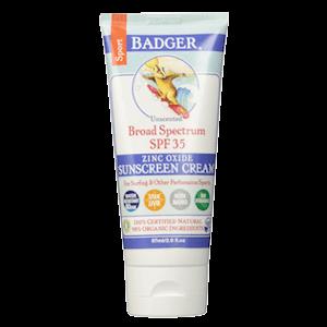 Badger Sport Sunscreen SPF 35