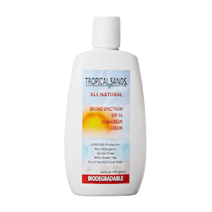 Tropical Sands All Natural Sunscreen Cream SPF 50