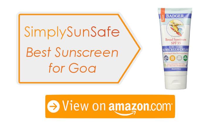 Best Sunscreen For Goa Beaches