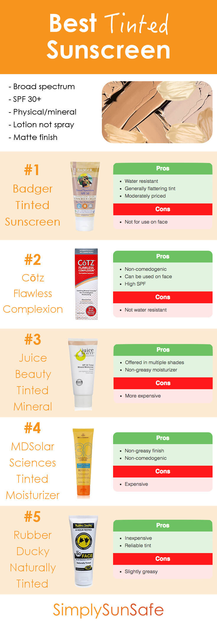 Best Tinted Sunscreen Pinterest