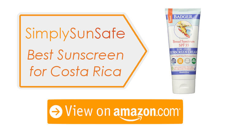 Sunscreen For Costa Rica