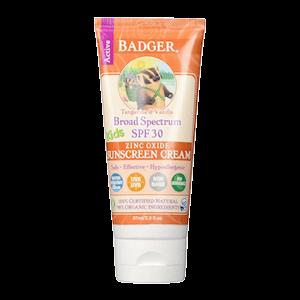 Badger Kids Sunscreen Cream SPF 30