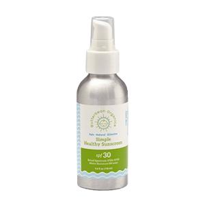 Butterbean Organics Simple Healthy Sunscreen SPF 30