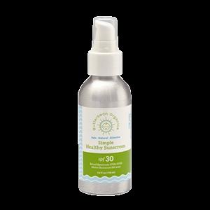 Butterbean Organics Simple Healthy Sunscreen SPF 30