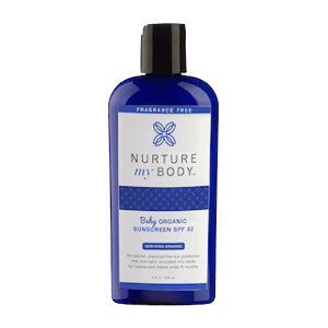 Nurture My Body Baby Organic Sunscreen SPF 32