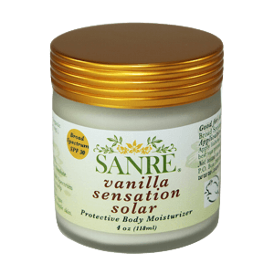 SanRe Organic Skinfood Vanilla Sensation Solar SPF 30
