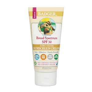 Badger All Natural Sunscreen SPF 30