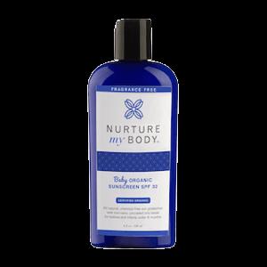 Nurture My Body Baby Organic Sunscreen SPF 32
