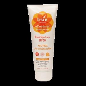 True Natural Neutral Sunscreen SPF 50