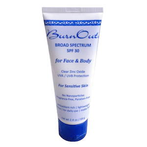 BurnOut SPF 30 for Face & Body