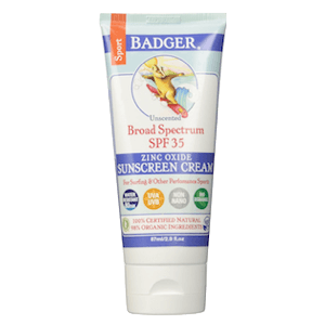 Badger Sport Sunscreen SPF 35
