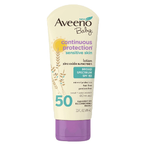 Aveeno Baby Continuous Protection Lotion Sunscreen SPF 50