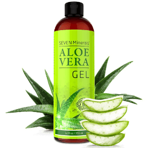 Seven Minerals Organic Aloe Vera Gel or Spray