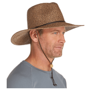 Coolibar Men's Beach Comber Sun Hat