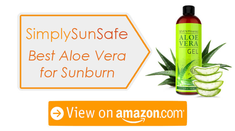 Best Aloe For Sunburn