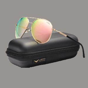 LUENX Aviator Polarized Sunglasses