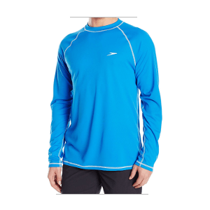 Speedo Men's Easy Long Sleeve Rashguard Swim Tee