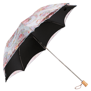 kilofly UPF 40+ Embroidered Sun Protection Folding Parasol