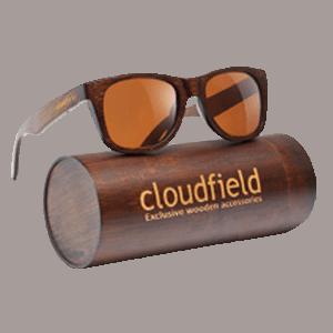 Cloudfield Wood Wayfarer Sunglasses
