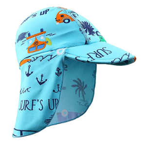 Huanqiue Baby Sun Protection Flap Hat