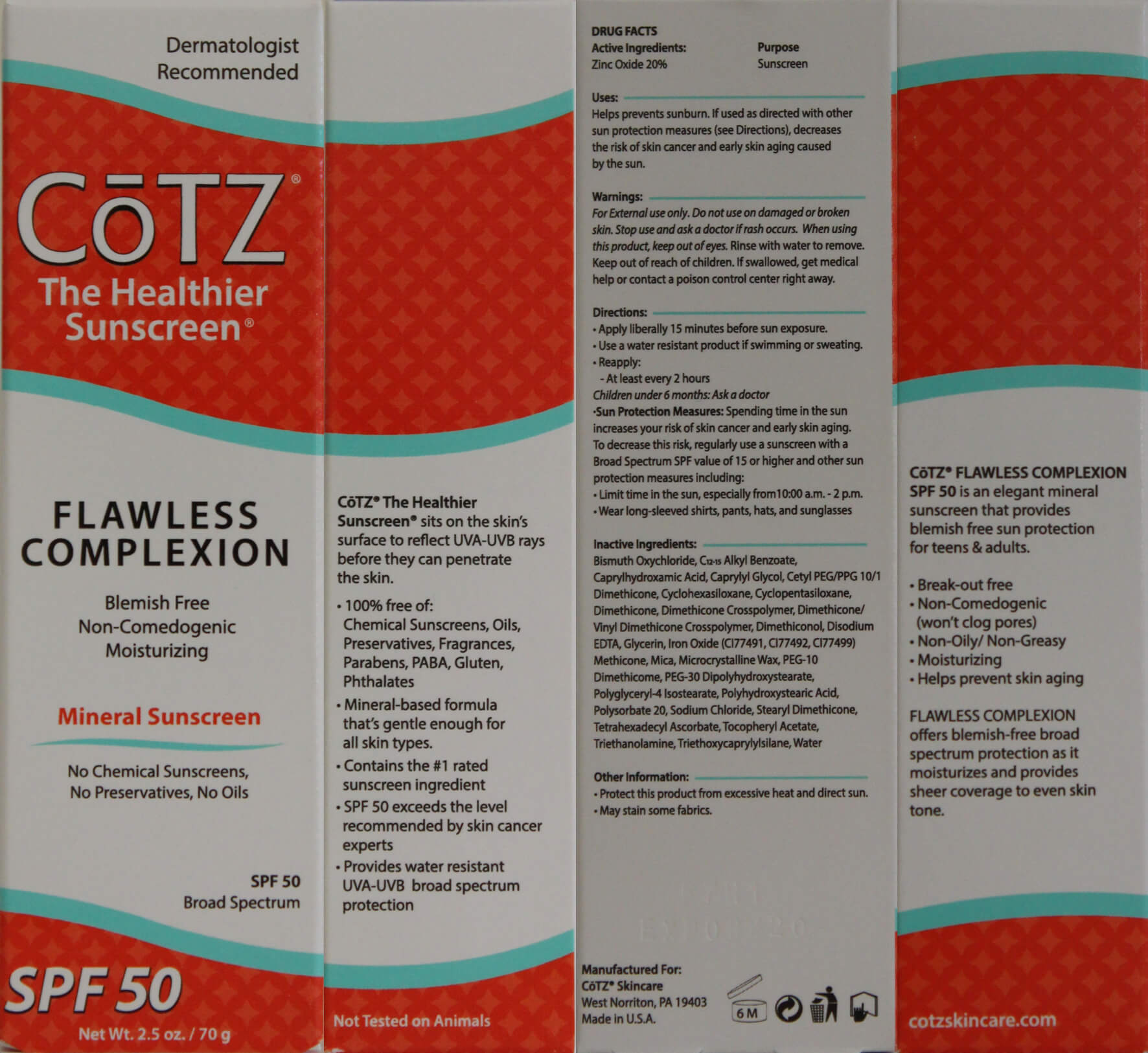 CoTZ Flawless Complexion Box