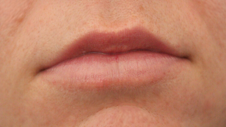 CoTZ Lip Balm SPF 45 In Use On Lips