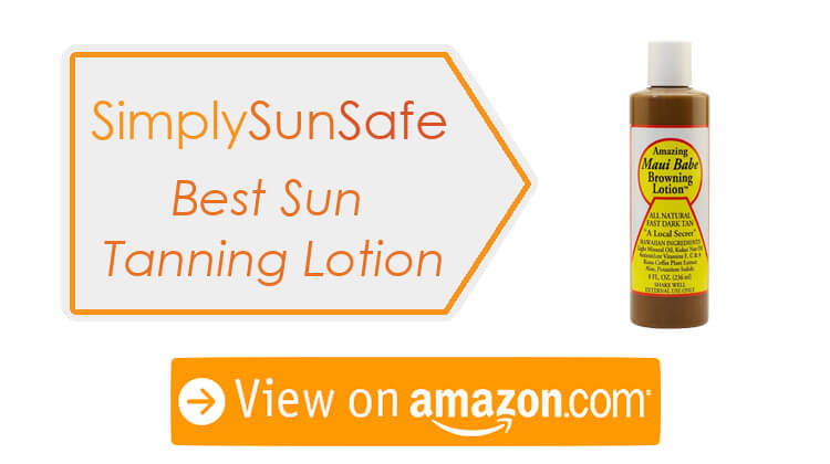 Best Sun Lotion For Tanning